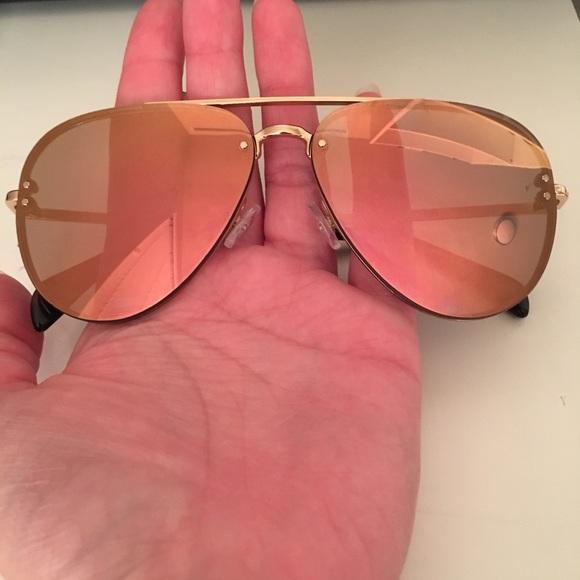 94ec9d0afe4f Celine Accessories - Celine rose Gold mirrored aviators